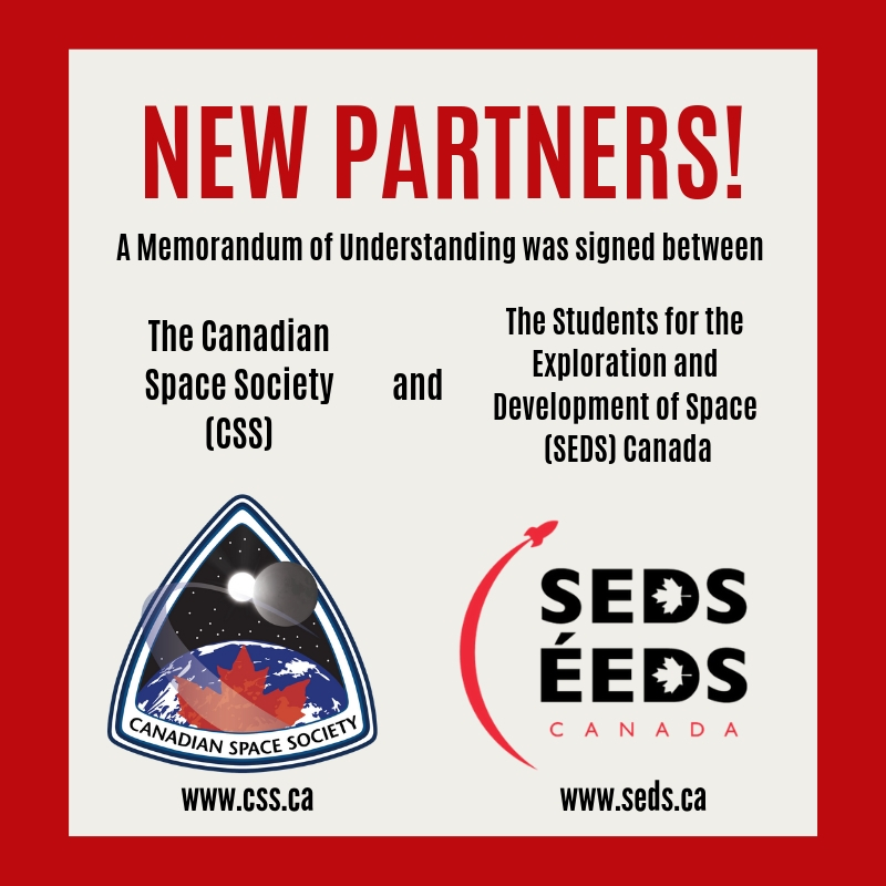 CSS and SEDS Canada sign MoU